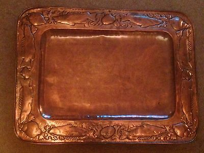 Very Large Newlyn Copper Tray