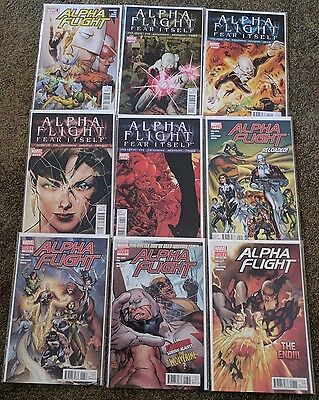 Alpha Flight (2011-2012) #1-8, 0.1 (COMPLETE RUN!)