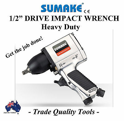 """Sumake 1/2"""" Dr Impact Gun Heavy Duty Trade Quality Wrench Air Tools Special"""