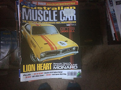 Australian Muscle Car Magazine ISSUES 24 TO 92