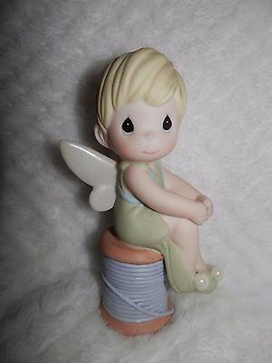 Precious Moments Disney Tinkerbell You're As Pretty As A Pixie mint cond. no box
