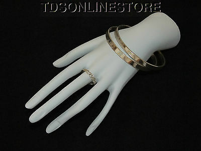 Stylish White Polystrene Hand Display For Rings And Bracelets