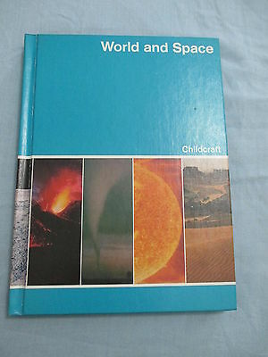 Childcraft How and Why Library Book 4 1980 World and Space Encyclopedia