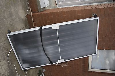 Hot water solar panels