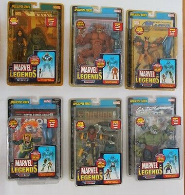 Marvel Legends Series 12 set (6 figures + Apocalypse BAF)