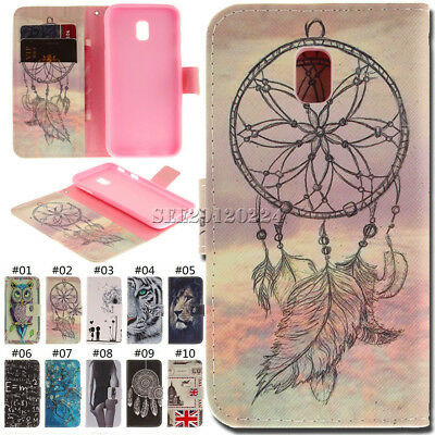 PU Leather Luxury Stand Card Wallet Flip Cover Case For Samsung Galaxy J7(2017)
