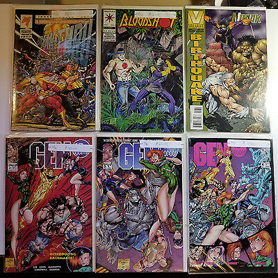 Lot of 73 Comic Books Marvel Image DC Malibu 1972-1995 Red Sonja Pitt Much More