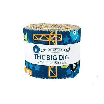 Quilting Fabric Layer Cake & Jelly Roll - Twin Pack - The Big Dig - Whistler