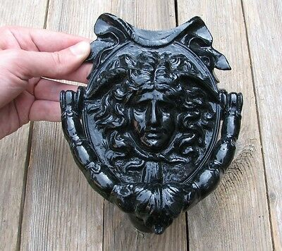 Old Impressive Cast Iron Door Knocker