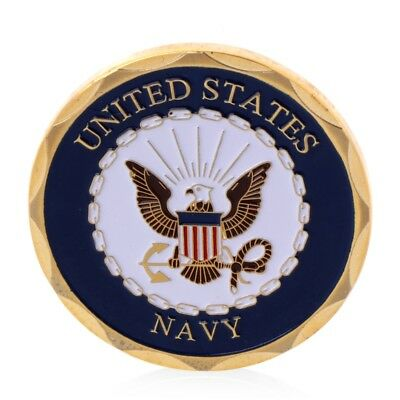 Navy U.S.Shellback Crossing The Line Sailor Eagle Commemorative Coin Collection