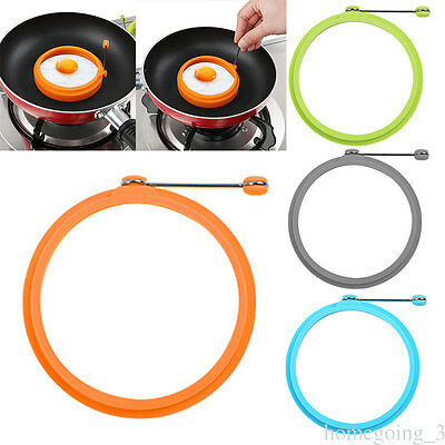 Cooking Mold Tool Silicone Non Stick Egg Frying Heart Shape Mold Fried Pancake