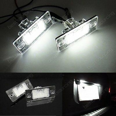 Feux Eclairage de Plaque LED Blanc Xenon VW Tiguan 5N TT / TTS 8J Golf 5 Break