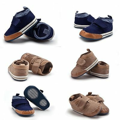Boy Toddler Prewalker Sneakers Baby Shoes Casual Canvas