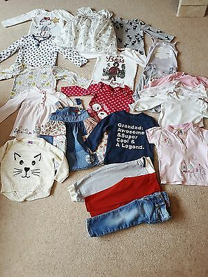 Large 12-18 Months Baby Girls Autumn Bundle inc NEXT, GAP, Mothercare