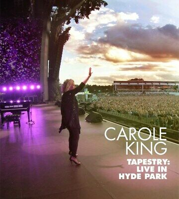 Tapestry: Live in Hyde Park - Carole King (Album with Blu-ray) [CD]