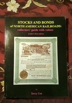 Stocks and Bonds of North American Railroads: Terry Cox
