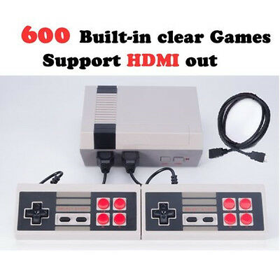 HDMI Output Family TV Video Game Console Built-in 600 Classic Games Game Player