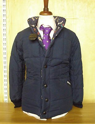 Mark Regent Child's Padded Reversible Jacket With Fully Removable Sleeves