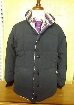 Mark Regent Navy Child's Padded Reversible Jacket With Fully Removable Sleeves