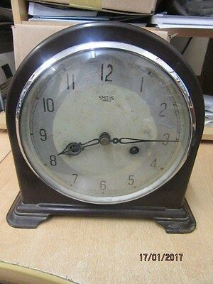 Mantel Clock In Working Order By Smiths Enfield