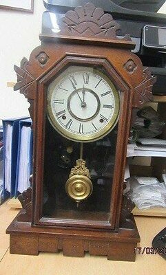 American Mantel Clock In Working Order