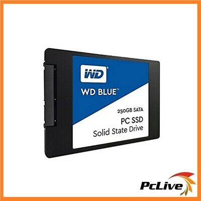 "Western Digital 250GB SSD Solid State Drive WD Blue 2.5"" SATA for Desktop Laptop"