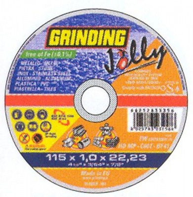 Disc Grinding Jolly 115X1,0 Mm Hole 22 Manual Tools