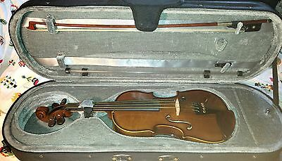 """Stentor 1 12"""" Viola with new higher quality bow, case, rosin, strung"""