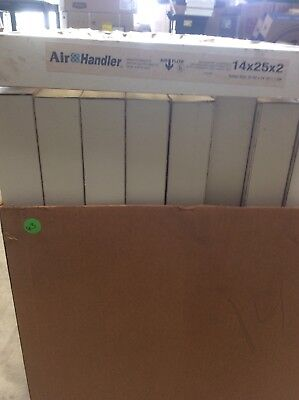 14x25x2 Pleated Filter. Box Of 12