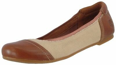 6b84385090e Timberland Sample Women s Ellsworth F l Toecap Ballerina Flat Shoes Us 7 Eu  38