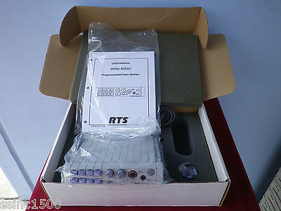 RTS Telex MCE-325 Programmable User Station New in Box