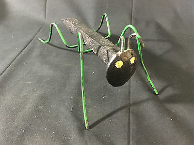 Unique Creative Railroad Spike Stake Ant Bug Insect Art Sculpture Yard Decor
