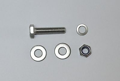 M10 A2 Stainless Steel Hex Head Bolts set (Bolts Washers and Nuts) x 8