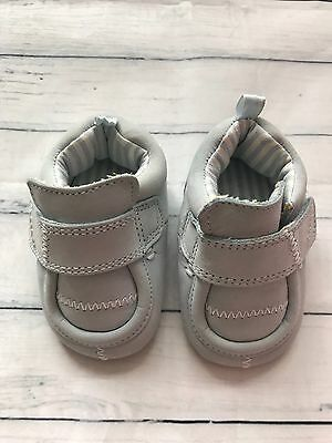Baby Boys Shoes 0-3 Months - Cute Pram Shoes