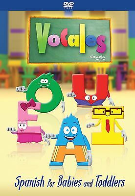 Spanish for kids - DVD for Children, Kids, Toddlers, Babies - ON SALE!