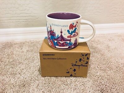 BRAND NEW Starbucks - You Are Here - Disneyland Fantasyland Mug