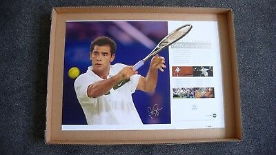 Pete Sampras  Merlin In White  Signed Limited Edition  Australian Open
