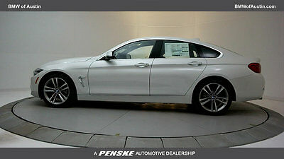 2018 BMW 4-Series 430i Gran Coupe 430i Gran Coupe 4 Series New 4 dr Automatic Gasoline 2.0L 4 Cyl Mineral White Me
