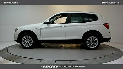 2017 BMW X3 sDrive28i Sports Activity Vehicle sDrive28i Sports Activity Vehicle 4 dr Automatic Gasoline 2.0L 4 Cyl Alpine Whit