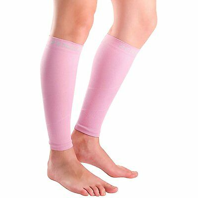 Compression Leg Sleeves - Pink, Large/Extra-Large