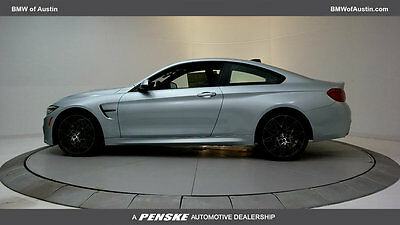 2018 BMW M4  New 2 dr Coupe Manual Gasoline 3.0L STRAIGHT 6 Cyl Silverstone Metallic