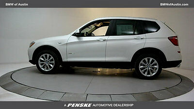 2017 BMW X3 sDrive28i sDrive28i New 4 dr Automatic Gasoline 2.0L 4 Cyl