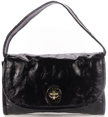 MARC BY MARC JACOBS NEW NWT Black Patent Leather Shoulder Bag