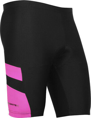 Optimum Nitebrite Rugby Sports Wear Lady Leg Grippers Stretch Shorts Pink