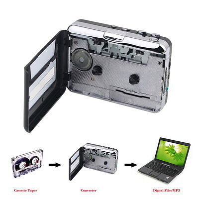Tape to PC USB Cassette & MP3 CD Converter Capture Digital Audio Music Player#LX