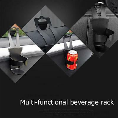 2X Universal Car Cup Holder Door Mount seat back drinking Bottle Can Mug Stand