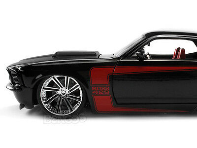 "1970 Ford BOSS 429 Mustang ""CUSTOM"" 1:24 Scale Diecast Model"