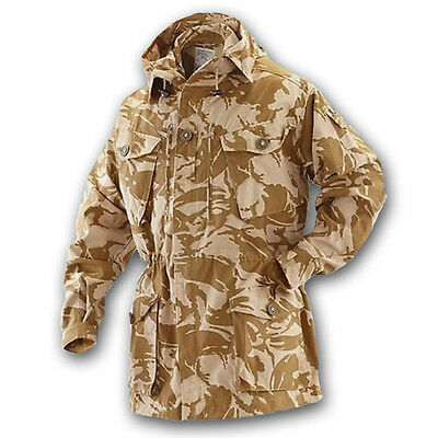 British Army Issue Windproof Smock Jacket Genuine Desert Dpm Combat Soldier 95