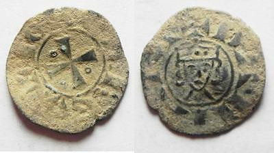 ZURQIEH -aa7049- NICE QUALITY. AS FOUND: CRUSADERS, Latin Kingdom of Jerusalem.