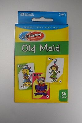 OLD MAID Classic Children's Card Game - LOTS OF FAMILY FUN - FREE POST